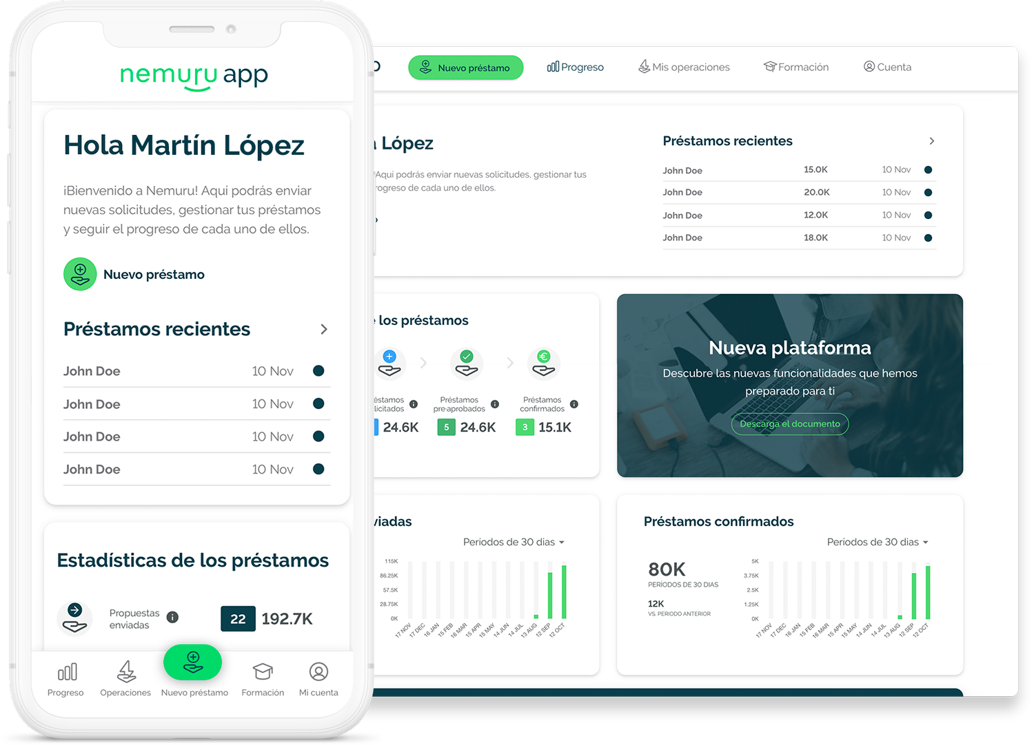 Nemuru - Nemuru gestiona<br/>la financiacion por ti